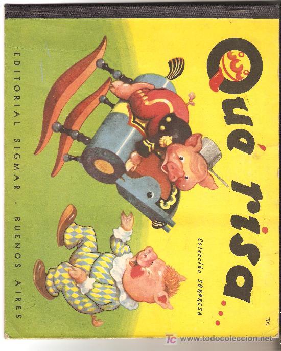 QUE RISA ( CUENTO INFANTIL ) (Libros de Segunda Mano - Bellas artes, ocio y coleccionismo - Otros)