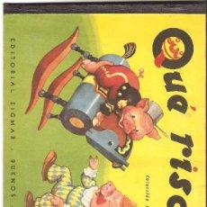 Libros de segunda mano: QUE RISA ( CUENTO INFANTIL ). Lote 9274368