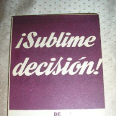 SUBLIME DECISION - MIHURA.