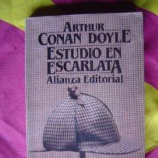 Libros de segunda mano: ESTUDIO EN ESCARLATA - ARTHUR CONAN DOYLE. Lote 3931294