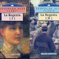 Libros de segunda mano: LA REGENTA. (2 VOLS). (CLARIN, 1993). Lote 9548080