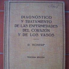 Libros de segunda mano: DIAGNÓSTICO Y TRATAMIENTO DE LAS ENFERMEDADES DEL CORAZÓN Y DE LOS VASOS, 1943. Lote 14740223