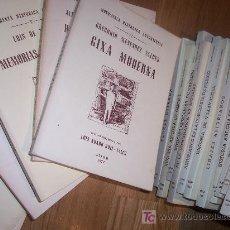 Libros de segunda mano: CARLOS GONZALEZ BIBLIOTECA ASTURIANA O NOTICIA DE LOS AUTORES ASTURIANOS. EDICI JOSÉ Mª FDEZ-PAJARES. Lote 13839422