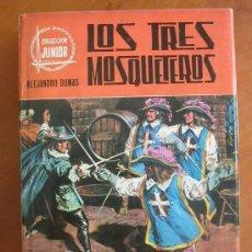 Libros de segunda mano: LOS TRES MOSQUETEROS, DE ALEJANDRO DUMAS. Lote 25569659