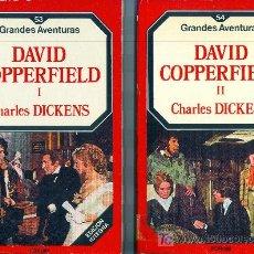 Libros de segunda mano: DAVID COPPERFIELD. 2 VOLS. CHARLES DICKENS.. Lote 9967124