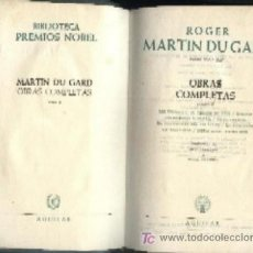Libros de segunda mano: SINCLAIR LEWIS. NOVELAS ESCOGIDAS. PREMIO NOBEL 1930 (A/ AGUI- 014, 4). Lote 3390986