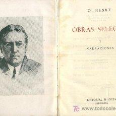 Libros de segunda mano: OBRAS SELECTAS. 2 TOMOS. A-PI-022. Lote 3424150