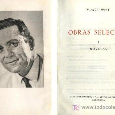 Libros de segunda mano: OBRAS SELECTAS. MORRIS WEST. 2 TOMOS. A-PI-221. Lote 3874158