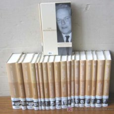 Libros de segunda mano: PROTAGONISTAS DEL S. XX BIOGRAFÍAS QUE CONSTRUYERON SIGLO. 18 LIBROS..ALBERT EINSTEIN / WINSTON CHUR. Lote 22143059