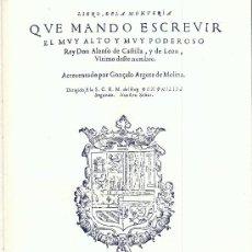 Libros de segunda mano: ALFONSO DE CASTILLA. LIBRO DE LA MONTERÍA. (FACSÍMIL DE 1582). C. 1975. CAZA. CLÁSICO REGALO CAZADOR. Lote 25361662