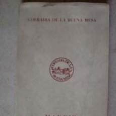 Libros de segunda mano: MADRID GASTRONOMICO 1975.. Lote 9562594