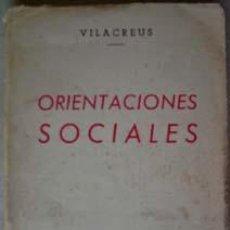 Libros de segunda mano: ORIENTACIONES SOCIALES.. Lote 8688658