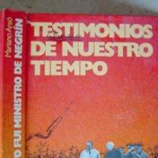 Libros de segunda mano: YO FUI MINISTRO DE NEGRIN.. Lote 9349753