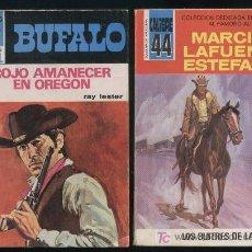 Libros de segunda mano: 2 MINI LIBROS DEL OESTE. Lote 4595114