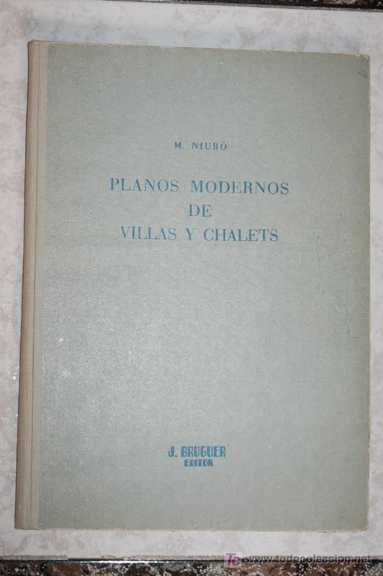 Planos modernos de villas y chalets niubo comprar en for Planos chalets modernos