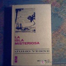 Libros de segunda mano: LA ISLA MISTERIOSA - JULIO VERNE - 1974. Lote 26476510