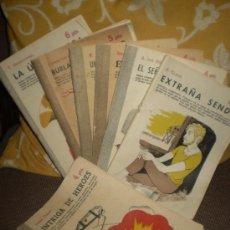 Libros de segunda mano: 8 EJEMPLARES DE LA REVISTA LITERARIA NOVELAS Y CUENTOS.. Lote 19334045