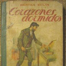 Libros de segunda mano: CORAZONES DORMIDOS, BIBLIOTECA SELECTA, EDIT. RAMON SOPENA ,AÑO 1941.. Lote 26898077