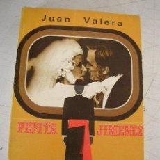 Libros de segunda mano: PEPITA JIMENEZ-OBRAS ESCOJIDAS DE JUAN VALERA-1975-BIBLIOTECA NUEVA.- MAD.-. Lote 20611548