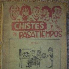 Libros de segunda mano: CHISTES Y PASATIEMPOS, REVISTA DE HUMOR RECOPILADA CON NROS DE 1966.. Lote 26939138