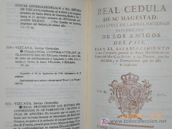 Libros de segunda mano: CATALOGO DE LIBROS: FUERO VASCO. FORUEI BURUZKO LIBURUEN ERROLDEA. - Foto 3 - 24926052