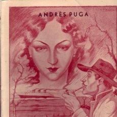 Libros de segunda mano: ZARZAS-UNA NOVELA DE ANDRES PUGA. Lote 21936332