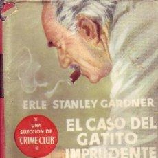 Libros de segunda mano: SELECCION DE CRIME CLUB. EL CASO DEL GATITO IMPRUDENTE.. Lote 23482988