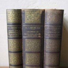 Libros de segunda mano: 3 TOMOS .. LECCIONES SOBRE LAS ENFERMEDADES DE LA NUTRICIÓN ...1940. Lote 26649943