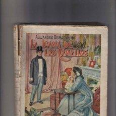Libros de segunda mano: NOVELA DE ALEJANDRO DUMAS - LA DAMA DE LAS CAMELIAS - RAMON SOPENA, EDITOR. Lote 25623249