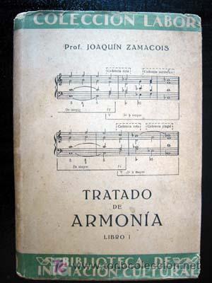 tratado de armonia joaquin zamacois