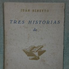Libros de segunda mano: TRES HISTORIAS DE UNIDAD.. Lote 26287535