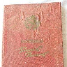 Libros de segunda mano: RECETARIO TURMIX BERRENS AÑOS 50. Lote 11128968