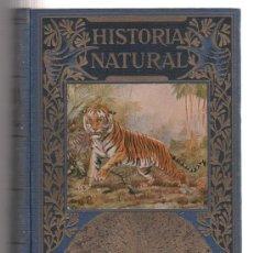 Libros de segunda mano: LIBRO HISTORIA NATURAL DE LA EDITORIAL RAMON SOPENA DE BARCELONA DE 1940. Lote 23696877