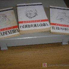 Libros de segunda mano: P. RIVADENEIRA - EL FILOSOFO RANCIO, 1ª ED.- CALDERON DE LA BARCA. Lote 26629077