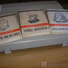 Libros de segunda mano: ANDRES BERNALDEZ - MARIANO JOSE DE LARRA - JUAN ALFONSO DE LANCINA (1945). Lote 27249951