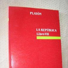 Libros de segunda mano: LA REPUBLICA - PLATON. Lote 148105764
