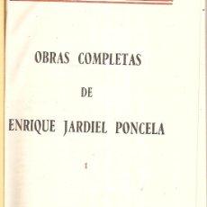 Libros de segunda mano: OBRAS COMPLETAS / ENRIQUE JARDIEL PONCELA. MEXICO : AHRMEX, 1960. 4 VOLS.. Lote 26399730