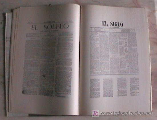 Libros de segunda mano: INTERESANTE LIBRO PARA COLECCIONISTAS DE PERIODICOS ESPAÑA PRIMERA PLANA - Foto 4 - 26950849