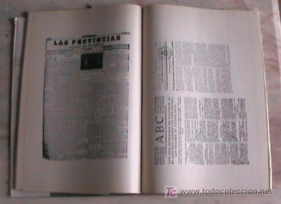 Libros de segunda mano: INTERESANTE LIBRO PARA COLECCIONISTAS DE PERIODICOS ESPAÑA PRIMERA PLANA - Foto 3 - 26950849