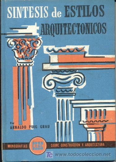 Libro sintesis de estilos arquitectonicos 1966 comprar for Libros sobre planos arquitectonicos