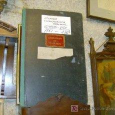 Libros de segunda mano: LIBRO COPIADOR DE CARTAS DE LA FIRMA HIJOS DE SIMEON VIGO AÑO 1951 - PERFECTO + INFO. Lote 23185092