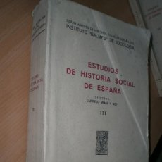 Libros de segunda mano: IMPORTANTE LIBRO DE SOCIOLOGÍA ACERCA DE LOS JUDIOS CONVERSOS, TOTEMISMO, LOS VAQUEIROS DE ALZADA,ET. Lote 54438012