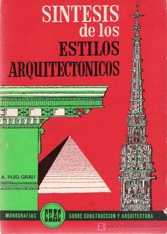 Arquitectura s ntesis de los estilos arquit comprar for Libros sobre planos arquitectonicos