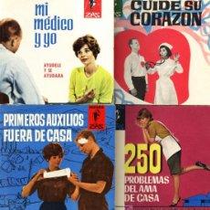 Libros de segunda mano: 4 PEQUEÑOS LIBROS DE EDITORIAL MARABÚ ZAS. Lote 22903934