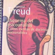 Libros de segunda mano: FREUD, SIGMUND: 'ESQUEMA DEL PSICOANÁLISIS Y OTROS ESCRITOS DE DOCTRINA PSICOANALÍTICA' (1999). Lote 5952206