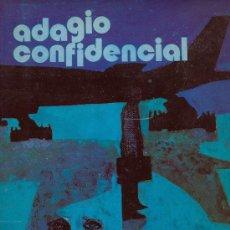 Libros de segunda mano: MERCEDES SALISACHS. ADAGIO CONFIDENCIAL. BARCELONA, 1973. Lote 7586804