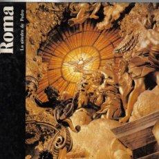 Libros de segunda mano: ROMA , LA CATEDRA DE PEDRO - EXCELENTES FOTOS DE ROMA Y EL VATICANO - 140 PAGINAS. Lote 23699256