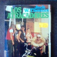 Libros de segunda mano: LOS ATRACADORES. Lote 23937029