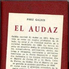 Libros de segunda mano: COLECCIÓN CRISOL, EL AUDAZ. Lote 6100961