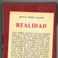 Libros de segunda mano: COLECCIÓN CRISOL, LA REALIDAD. Lote 6100974